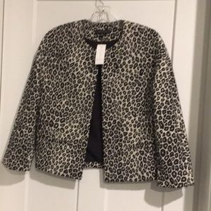 Cheetah Short Jacket 🧥,size-XS,Lined ,With Tag 🏷